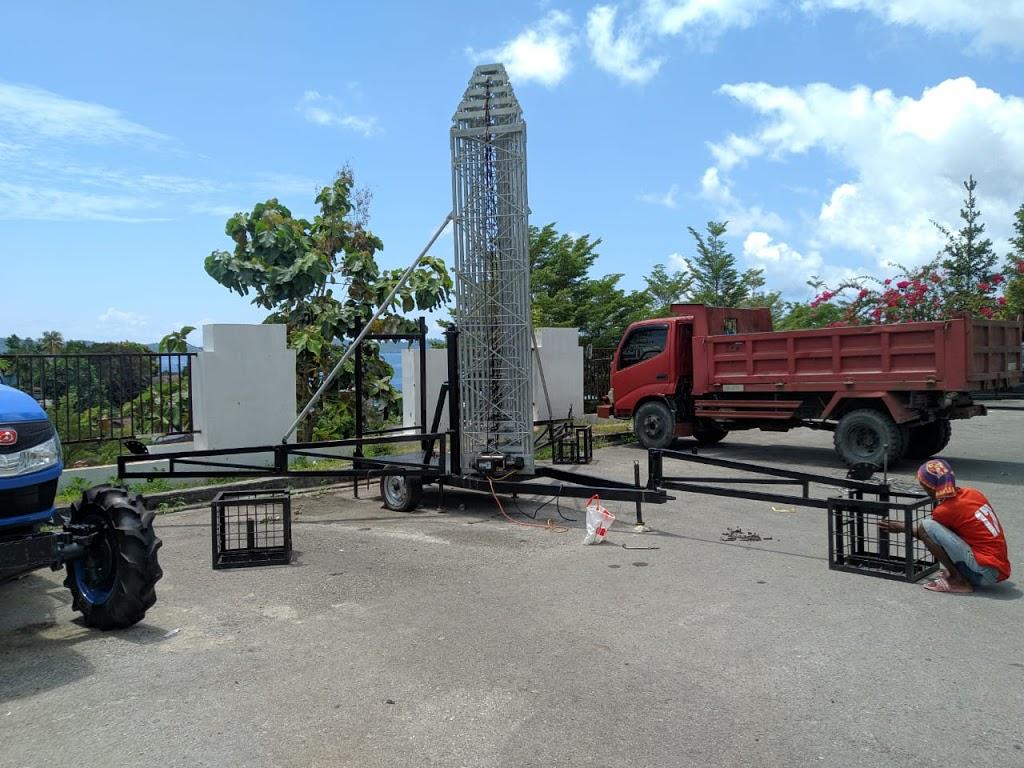 Tower Telescopic Portable – Telescopic Mobile – Permanen